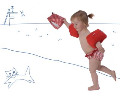 schwimmflügel-überzieher -