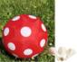 federleichter roter ball - Bild1