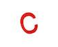 schulbuchstaben - c