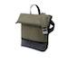 bugaboo bag - dark khaki/schwarzes futter