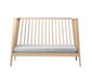 linea babybett - light grey