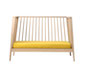 linea babybett - spicy yellow