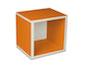 regalsystem würfel - orange