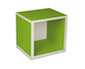 regalsystem würfel - grün