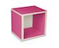 regalsystem würfel - pink