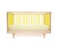 babybett und kinderbett - gelb