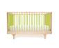 babybett und kinderbett - grün